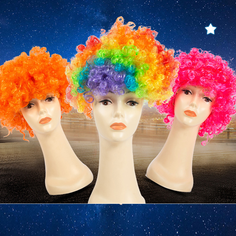 halloween party wear accessory clown cosplay props hair christmas