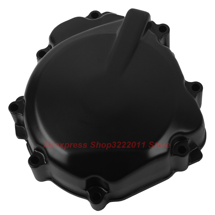Motorcycle Left Crankcase Engine Stator Cover For SUZUKI GSR400 2006-2011 starpad for lifan motorcycle v250 lf250 p combination left crankcase cover new accessories