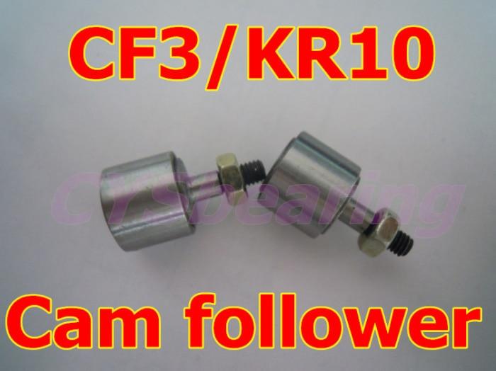 10 шт./лот KR10 CF3 трек игольчатые подшипник, Шпилька Тип следящий ролик Подшипники для 3 мм вал