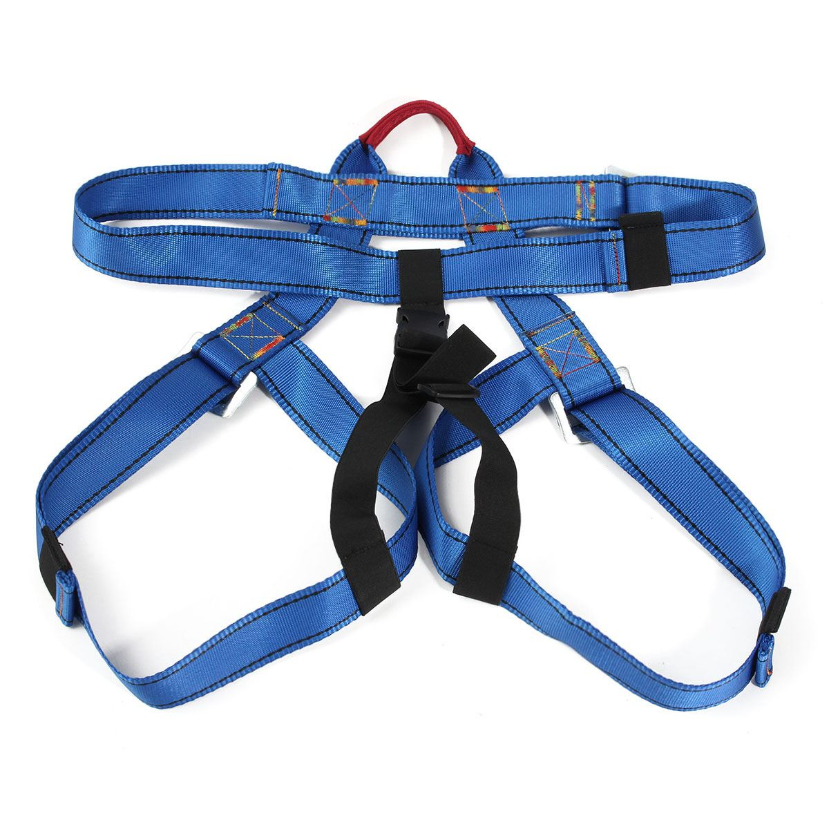 Safurance Outdoor Climbing Rappelling Climbing Harness Seat Safety Sitting Bust Belt Safety belt  Workplace Safety Harness outdoor climbing safety harness climbing rappelling belt bust safety belt waist use safety belts orange gm1412
