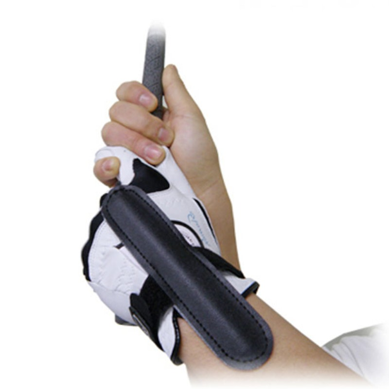 Golf Wrist Corrector Wrist Posture Correction Slice Golf Training Aids Wrist Arc Tik-Tok Swing Trainer Hook-calibration Black