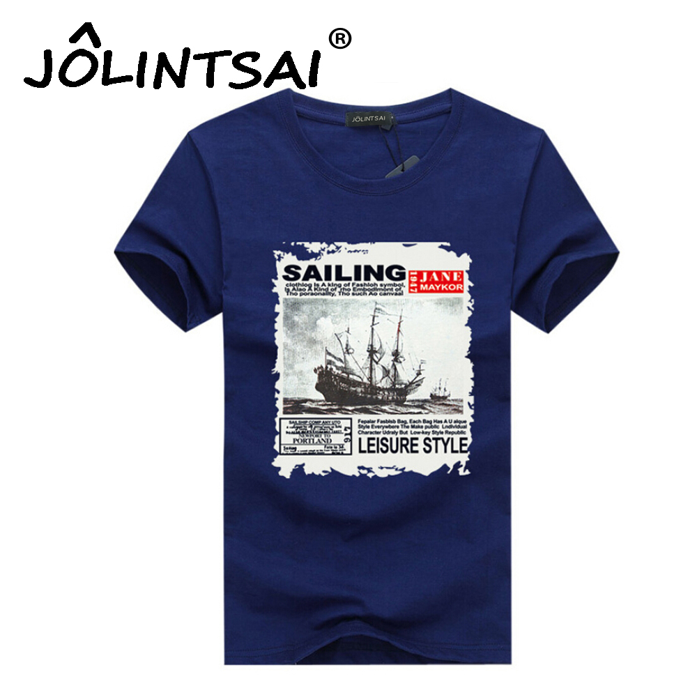 Buy 2017 summer men cotton t shirt for Which t shirt brand is the best