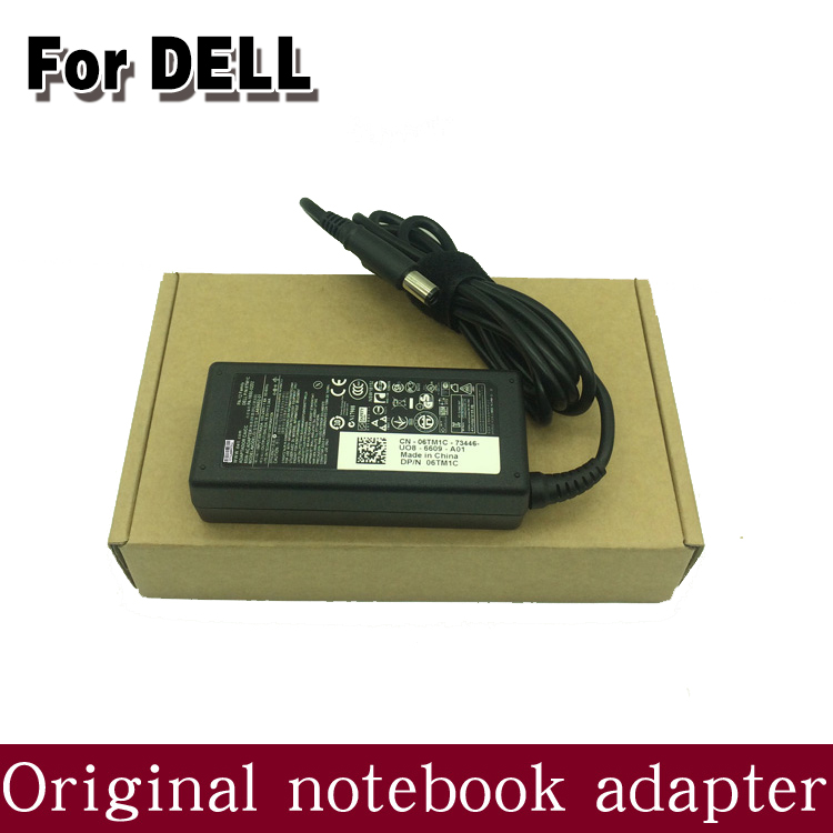 Genuine Original 65W AC Adaptor Power Supply Charger for Dell Inspiron 1440 M4040 M531R  ...
