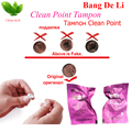 60 pcs Bang De Li clean point tampons Chinese Herbal Medicine for feminine hygiene products 100% original factory free shipping