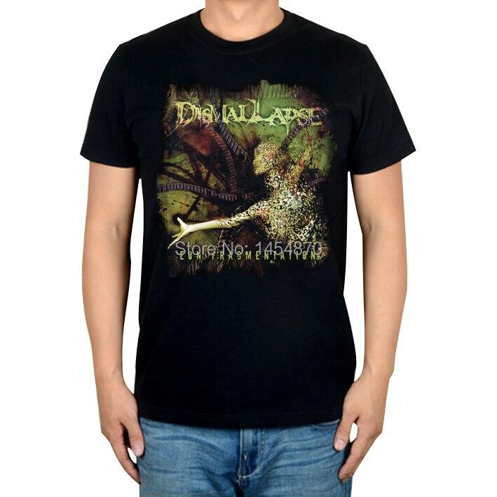 2 дизайна Dismal Lapse Эон осколочный рок Бренд трэш футболка хлопок панк фитнес тяжелый рок металлические черные рубашки camiseta
