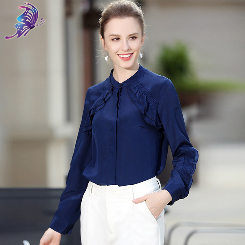 High Quality Wholesale Formal Blouses Designs From China
