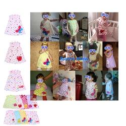 Kids Children Summer Sundress Baby Girls Sleeveless Dress girls Flower Lace Dress Princess Floral Tulle Party Wedding Dress