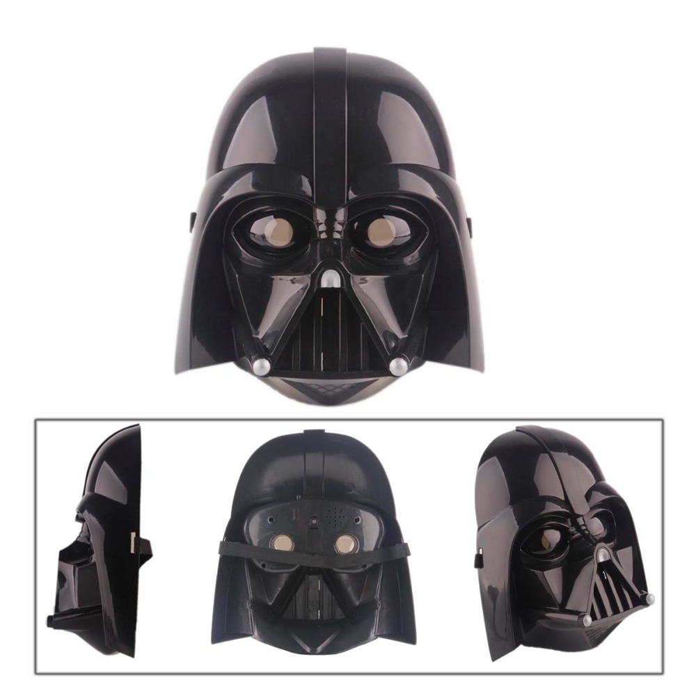 Online Shop Plastic cosplay scary star wars mask led lighting ...