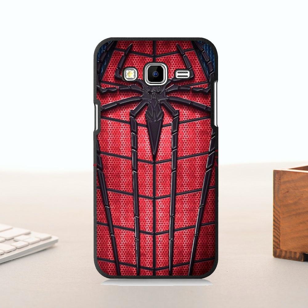 <font><b>Lovely</b></font> Plastic Phone Accessories For <font><b>GALAXY</b></font> J510 <font><b>case</b></font> Amazing red <font><b>spider</b></font> and <font><b>man</b></font>
