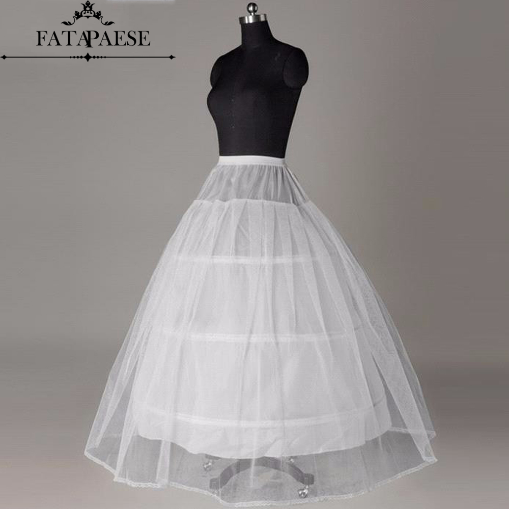 Hot sale Cheapeat 3 Hoop Wedding Bridal Gown Dress Petticoat Underskirt Crinoline Wedding Accessories