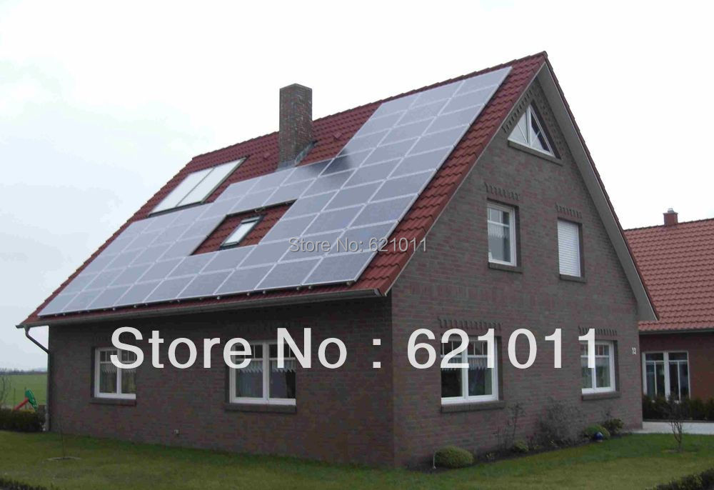 6KW home solar system , off grid solar power system include