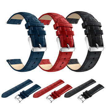 New Fashion Watch 2017 18mm 20mm 22mm Leather Strap Replacement Watch Band Wrist Strap Huawei Asus Zenwatch 2 Watch bands Наручные часы