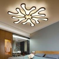New Hot Modern Led Ceiling Lights For Living Room Bedroom White Color AC85 265V Art Deco