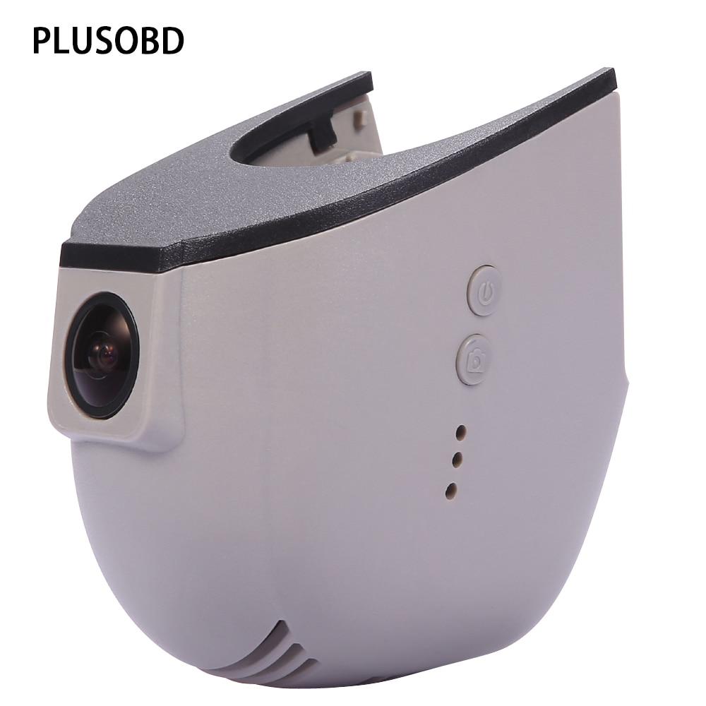 PLUSOBD Car Dash Camera For Audi A4 A5 A6 A7 A8 Q5 Q7 Vehicle Travelling Data Recorder G-Sensor With Humidity Sensor Slot