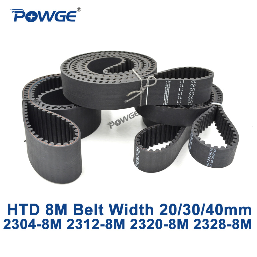 POWGE HTD 8M synchronous Timing belt C=2304/2312/2320/2328 width 20/30/40mm Teeth 288 289 290 291 HTD8M 2248-8M 2256-8M 2272-8M powge htd 8m synchronous belt c 520 528 536 544 552 width 20 30 40mm teeth 65 66 67 68 69 htd8m timing belt 520 8m 536 8m 552 8m