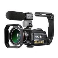 Ordro UHD 4 К WI FI 24MP цифровая видеокамера с 3,0 ''сенсорным дисплеем WI FI Ночное Видение цифровая видеокамера Горячий обувь