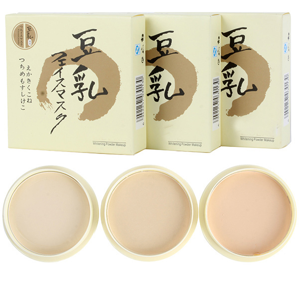 Beauty Women Pressed Powder Smooth Oil Control Whitening Loose Powder For White to Tan Skin Hot On Sale