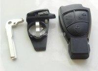 ใหม่ที่สำคัญC MLอีCLK B CLS S 3ปุ่มสมาร์ทระยะไกลKey Fobกรณีmercedes-benzอุปกรณ์เสริมในรถยนต์1ชิ้นที่มีแบต