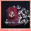 MNS139 Anchor metal nail art decorations metallic nail studs salon express nails acrylic supplies 1000pcs/pack