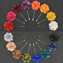 hot deal buy wholesale high quality men's fine jewelry brooches lapel floral pin mens wedding party tuxedo upscale brooches pin 16 pcs/lot