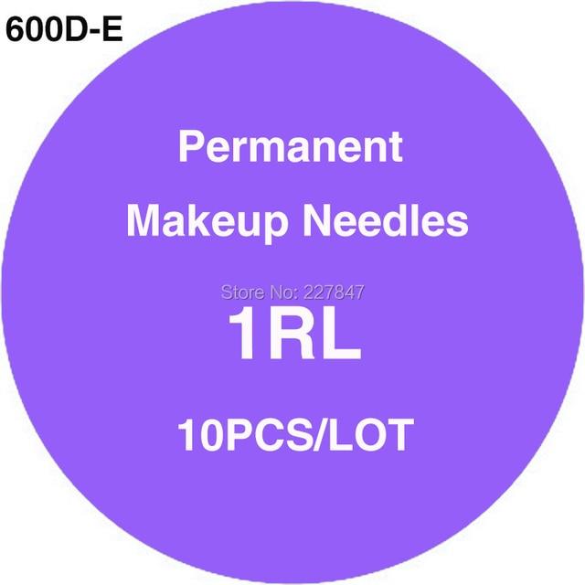 CHUSE JM600D-E 10pcs 1RL Tattoo Needles Sterilized Tattoo Needles For Eyebrow Makeup Pen Machine Tattoo Microblading