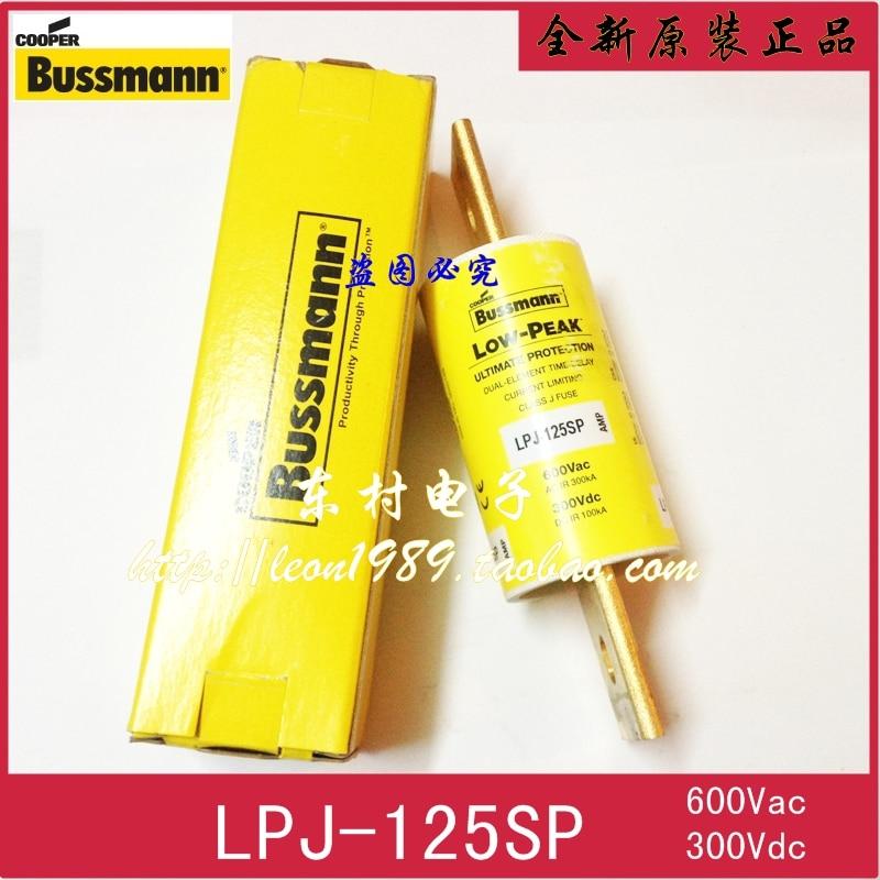 [SA]United States BUSSMANN fuse LOW-PEAK fuse LPJ-125SP 125A 600V