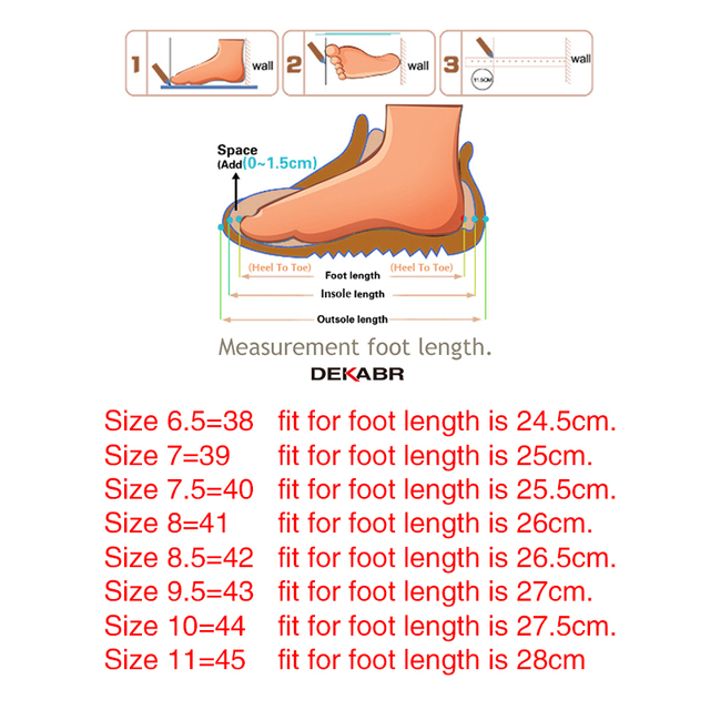 DEKABR High Quality Summer Men Sandals Real Leather NonSplit Soft Comfortable Men Shoes New Fashion Men Casual Shoes Size 39~45