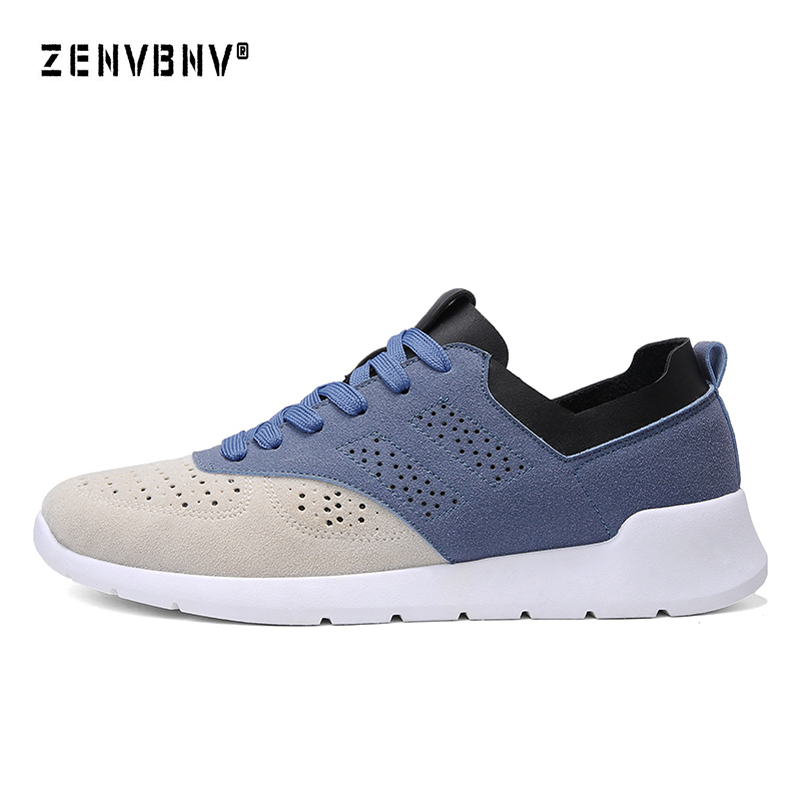 Zenvbnv 2018 New Arrival Spring Autumn Mens Trainers Sneakers Running Shoes Comfortable Jogging Sneakers Mens Sport Shoes Male