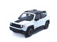 Welly 1:24 Jeep Renegade Diecast Model Sports Racing Car Toy NEW IN BOX
