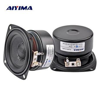 AIYIMA-Altavoz portátil de 3 pulgadas para cine en casa Altavoz de música...