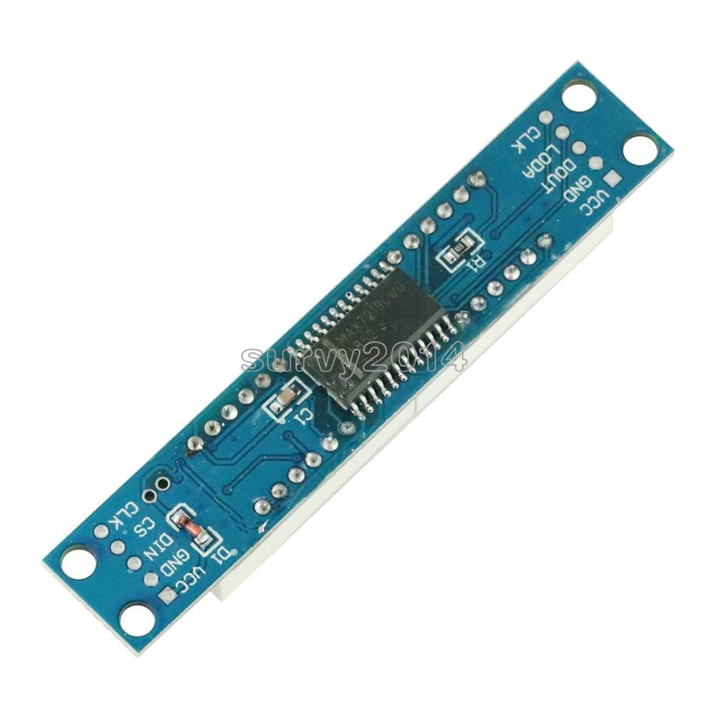 MAX7219 LED Dot Matrix 8-Digit Digital Control Module with 20cm 5P Line
