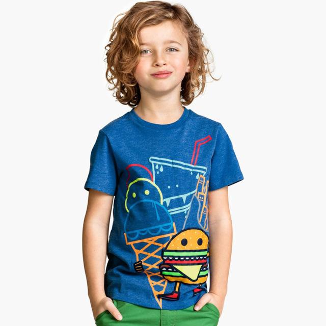 Boys' Long Sleeved Cotton T-Shirt