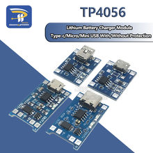 Mini Micro Type-c USB 5V 1A 18650 TP4056 Lithium Battery Charger Module Charging Board With Protection Dual Functions 1A Li-ion(China)
