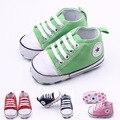 Крючком Детская Обувь Впервые Ходунки Sapatos Chaussure Enfant Бренд Ребенок Allstar Холст Обуви