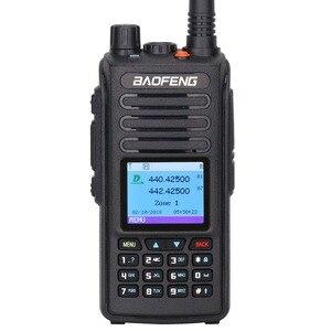 Image 2 - 2020 Baofeng DM 1702 نظام تحديد المواقع DMR الرقمية التناظرية واكي تاكي محمول Tier1 و Tier2 مكرر ثنائي النطاق VHF/UHF هام راديو اتجاهين