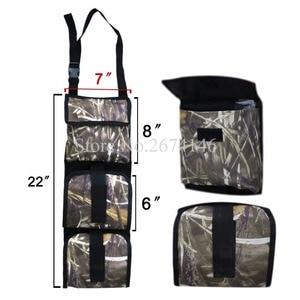 Image 2 - Portable Multi Function Camouflage Hunting Bag for Car Rear Seat Belt Gun Rack travel Hunt supplies Muti pockets shotgun sling