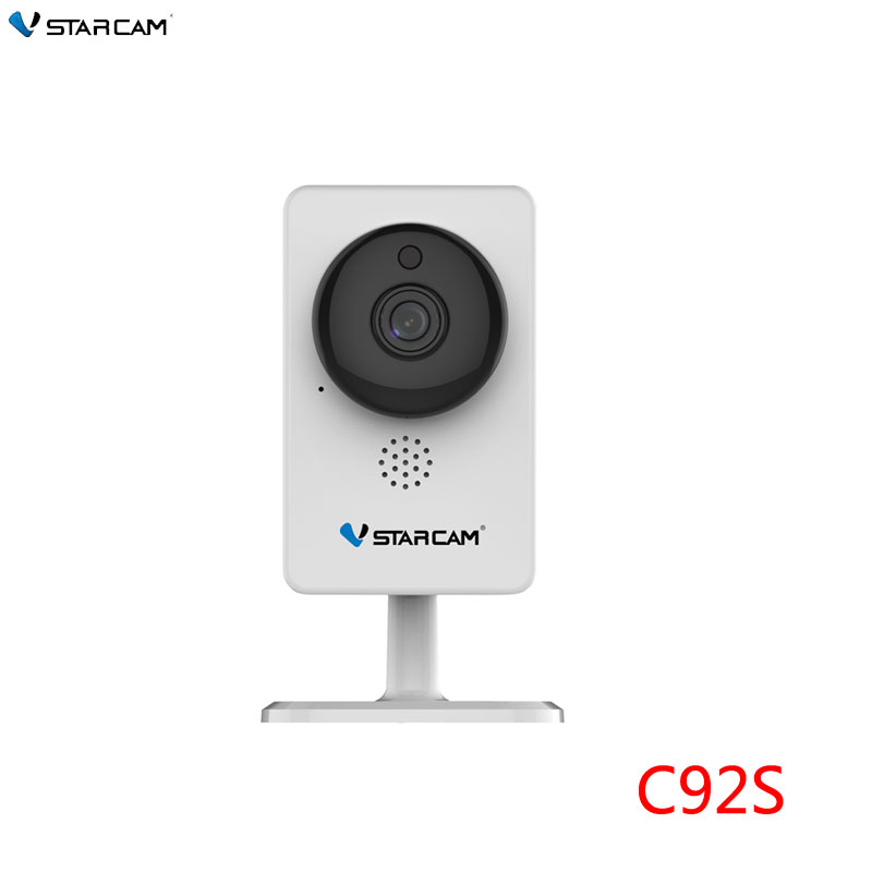 VStarcam 2MP IP Camera,1080P Small Size Home use IP Camera,4mm lens 10m IR distance ,Mini Camera Infrared night vision,sn:C92S spacetechnology st 171 ip home версия 2 2 8 mm аудио вход