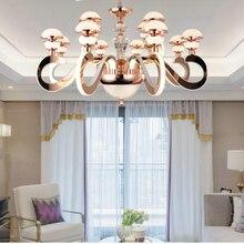 Post-Modern luxury LED Arylic Chandelier lights creative drop lighting new design living room dinning lamps