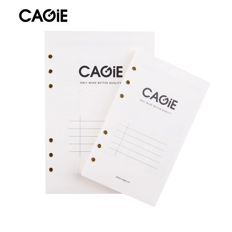 Paper Notebook Cagie Spiral Lined Page Grid Page Dottd Notepad - lined page