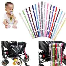 Baby Stroller Teether Pacifier Bottle Anti-lost Chain Strap Holder Belt Colorful High Chair Toys Fixed Bind Belt Kids Toys Leash(China)
