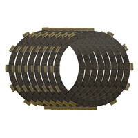 Motorcycle Engine Parts Clutch Friction Plates Kit For YAMAHA XVS1100 XVS 1100 1999 2004 #CP 00017