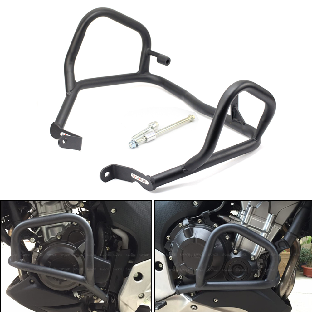 FOR HONDA CB 500X/CB 400X/ CB 500F/CB 400F 2013 2014 2015 2016 2017 2018 Engine Frame Crash Bar Bumper Motorcycle Accessories цена