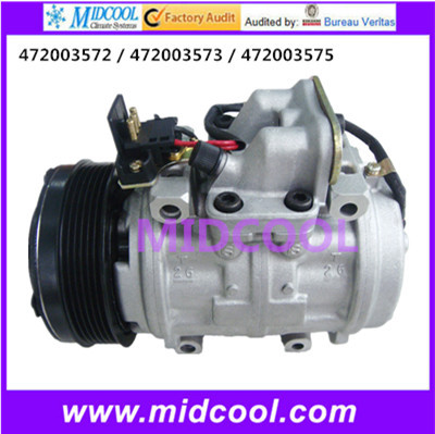 HIGH QUALITY AUTO AC COMPRESSOR 10P15C  FOR 472003572 / 472003573 / 472003575HIGH QUALITY AUTO AC COMPRESSOR 10P15C  FOR 472003572 / 472003573 / 472003575