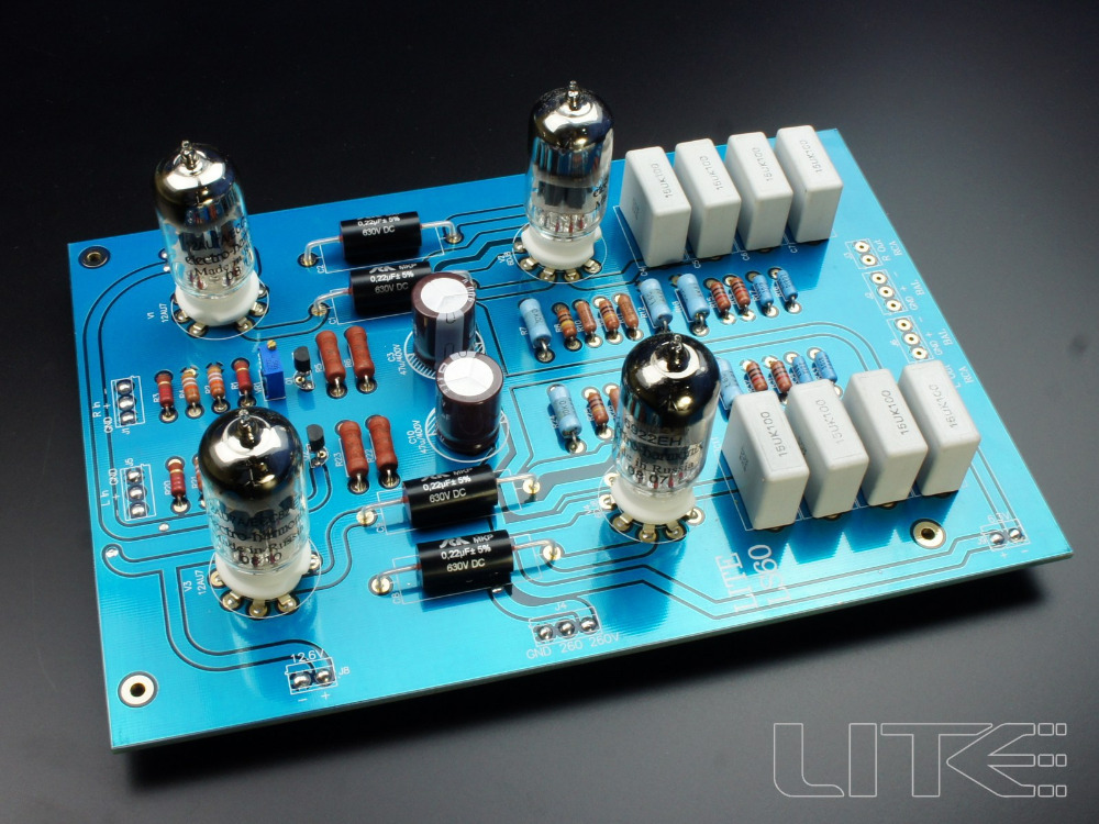 все цены на Assembled LS60 fully balanced tube preamp finished plate 12AU7 *2 ,6922 * 2 Free ship