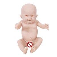 Otarddolls 20inch reborn doll Kits full body Doll DIY Accessory unpainted soft Silicone vinyl Reborn Dolls toys like real baby