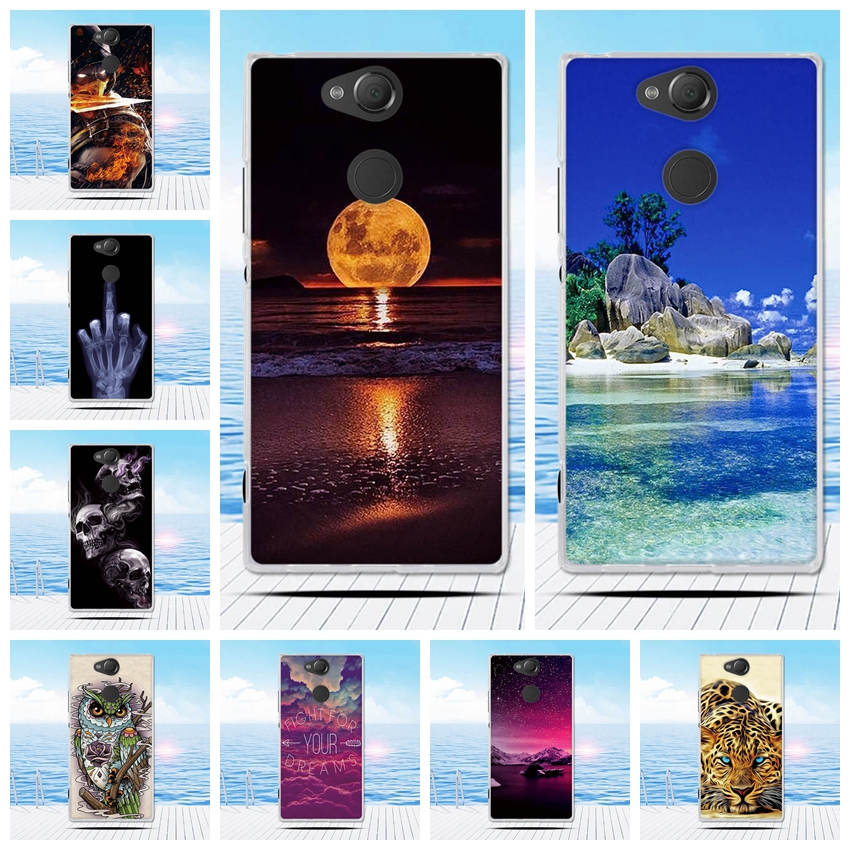 Case For Sony Xperia XA2 XA 2 Case Cover Dual Cute Soft Silicone Coque Cover For Sony Xperia XA2 XA 2 Funda Ultra Case