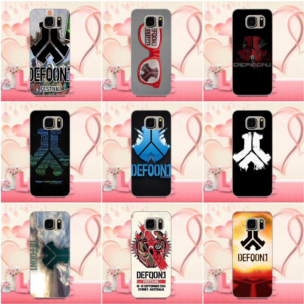 Oedmeb Cover Style Design Cell Phone Case Defqon 1 For Xiaomi Redmi 5 4A 3 3S Pro Mi4 Mi4i Mi5 Mi5S Mi Max Mix 2 Note 3 4 Plus
