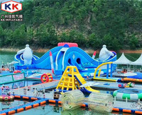 super inflatable water park, hot inflatable floating water park projects