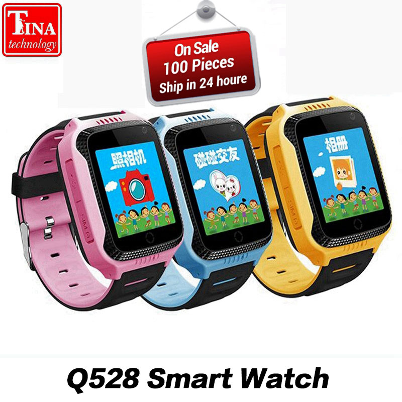 Original Q528 Y21 Touch Screen Kids GPS Watch with Camera Lighting Smart Watch Sleep Monitor GPS SOS Baby Watch PK dz09