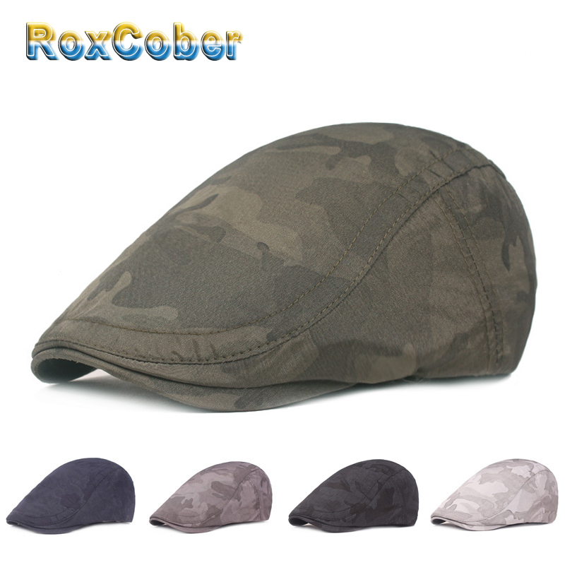 RoxCober Spring Sunmer Thin berets newboy caps Gat